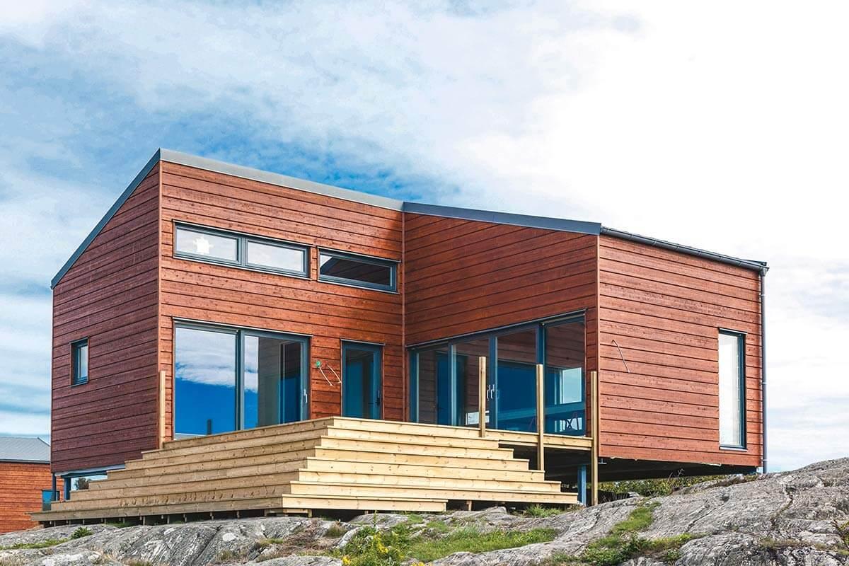 ett fint hus på knarrholmen
