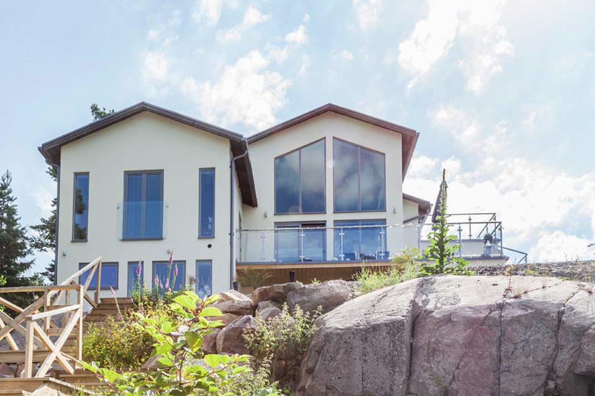 Arkitektritade husdrömmar i sten