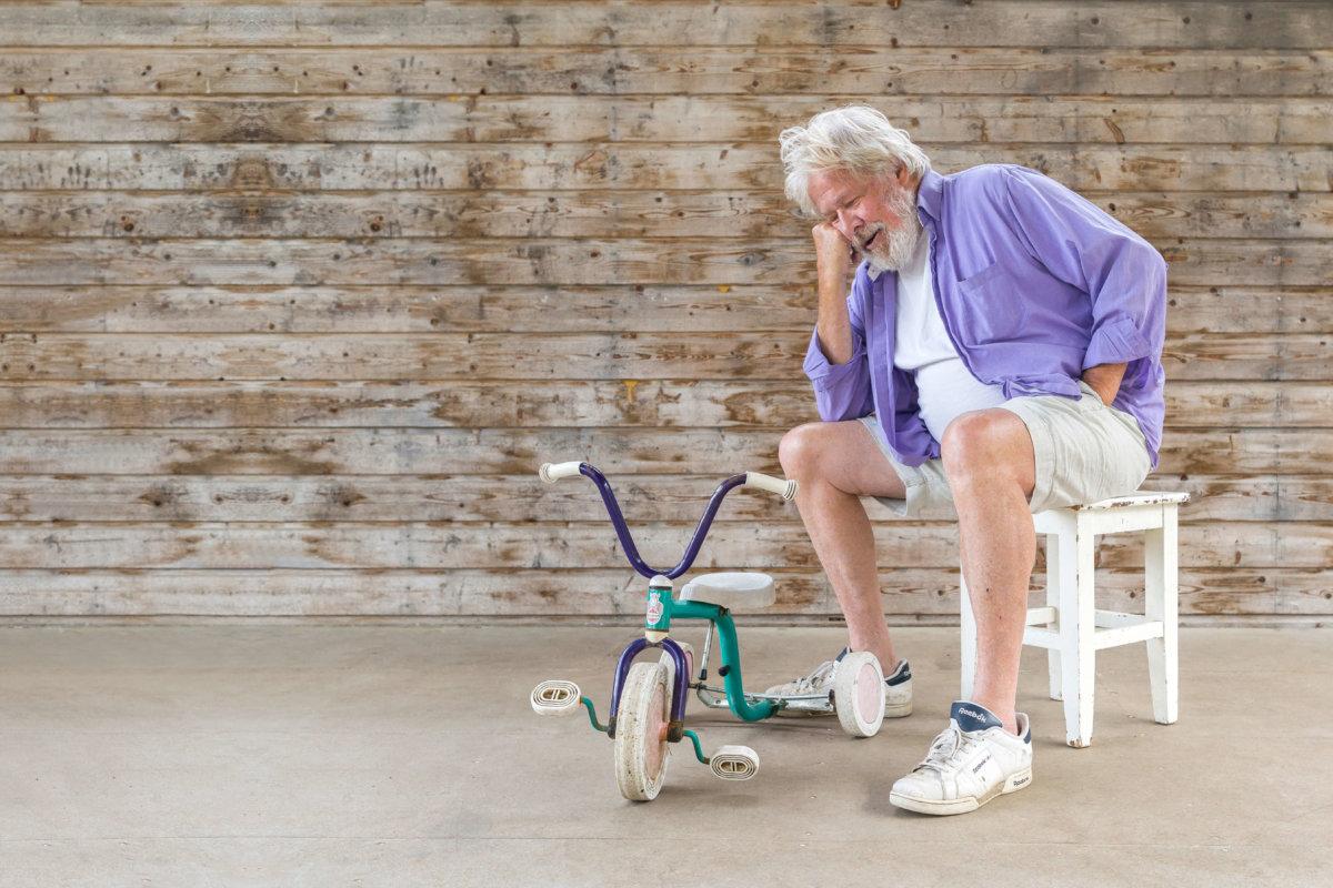 Bara för att jag blivit pensionär tänker jag inte gå och vänta på att dö